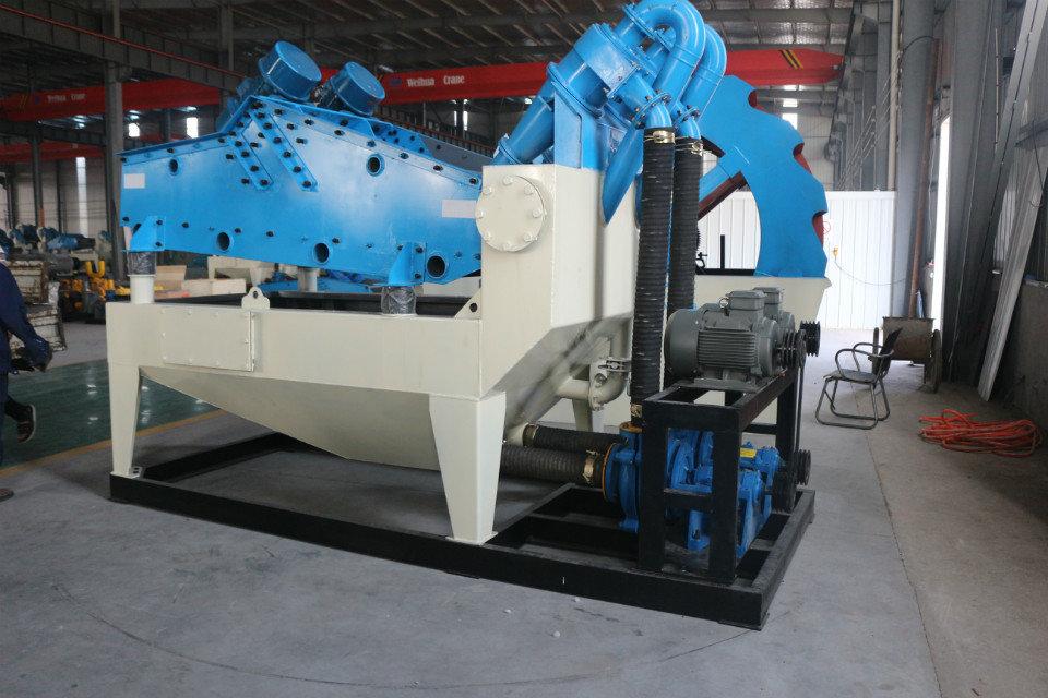 移动细沙回收机设备,实现砂石料生产随时随地