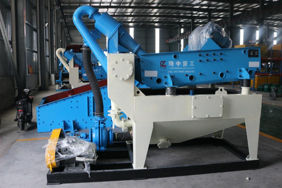 新型细沙回收机设备用来筛分不同石料,制砂效果好