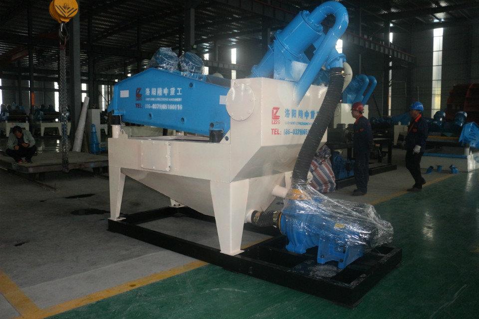 新一代细沙回收机设备日产量大,为企业提供砂石骨料