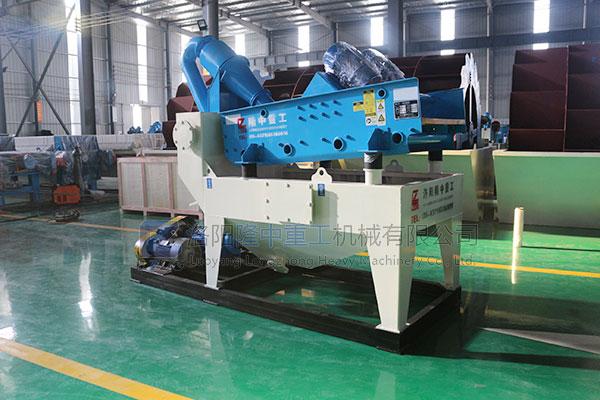 隆中多款时产量300吨细砂回收机设备亮相市场