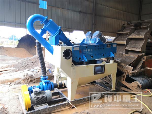 高质量砂子更为稀缺,沙石场新一代细砂回收机在这里