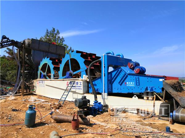 高质量的砂石料离不开创新型细砂回收机设备
