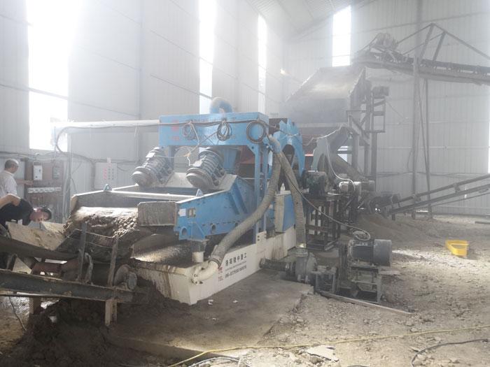时产150吨风化石细沙回收机,砂子回收一步到位!