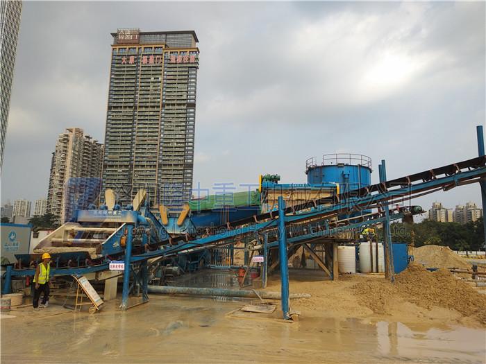 生产机制砂可选用环保细沙回收机,一起来看生产现场