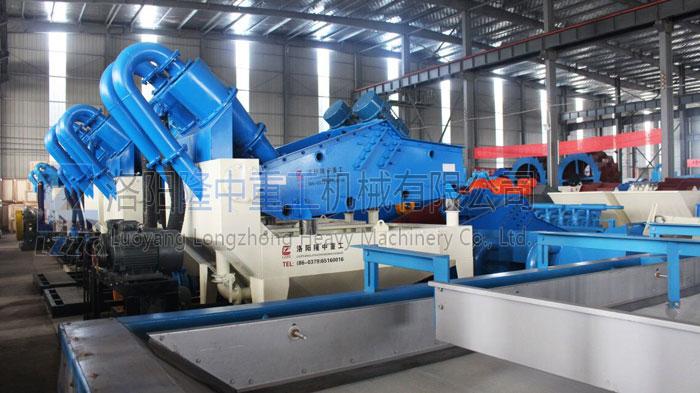 时产量80吨左右细沙回收机-砂子回收设备价格多少