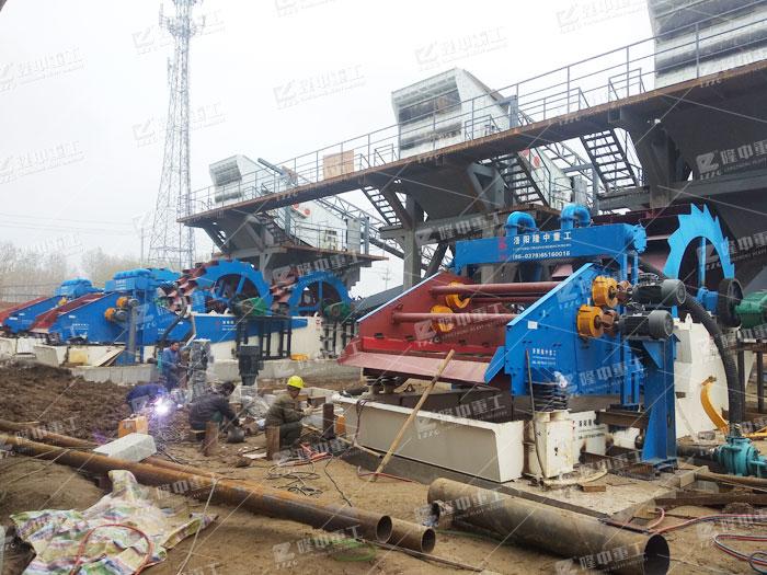 成套废混凝土砂石生产线实现废混凝土的再利用