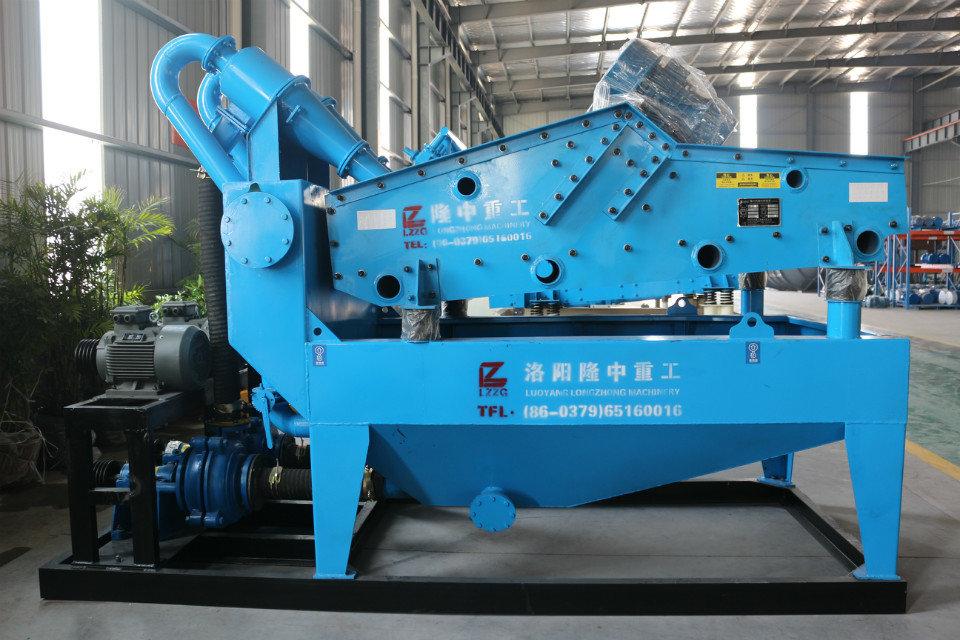 LZ细砂回收机设备在石料生产线中获得赞赏