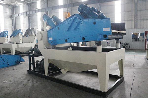 新型细沙回收机设备将节能环保特性融入到生产当中