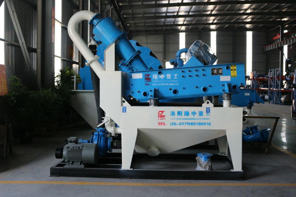 我国细砂回收机筛分设备迎来突破式发展