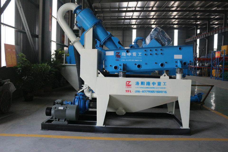 细沙回收机中的聚氨酯筛网具备哪些优势