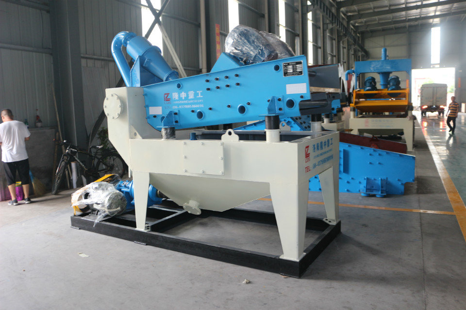 制砂生产线如何选择细沙回收机型号