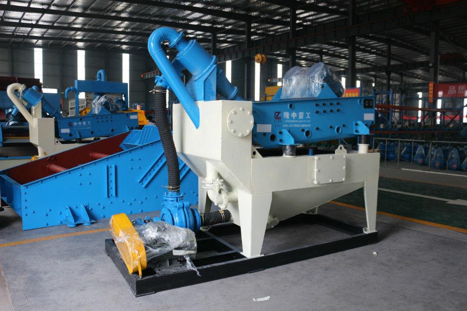环保型细砂回收机推动基建行业大力发展