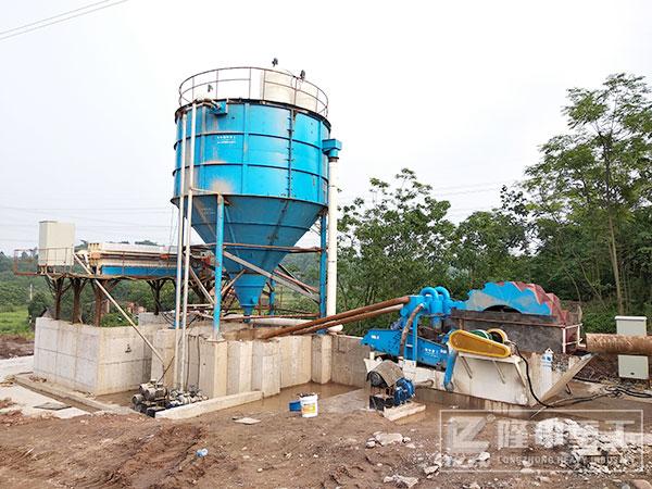 矿山水洗砂石料设备 泥浆零排放处理设备优势