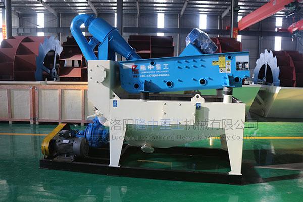 细砂回收机设备用于采石场物料筛分有哪些优势?