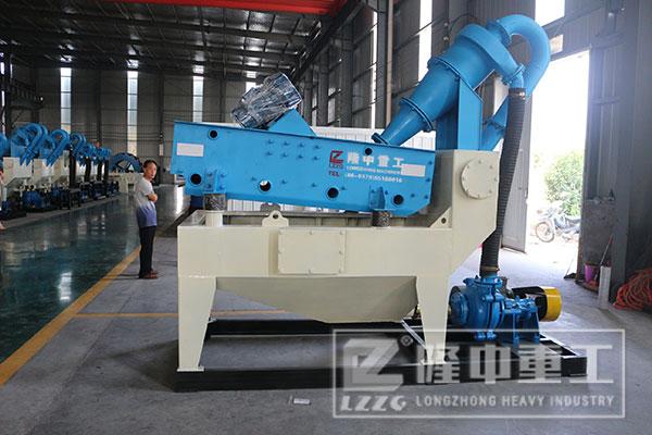 大型矿山新一代细砂回收机设备在生产线中如何配置?
