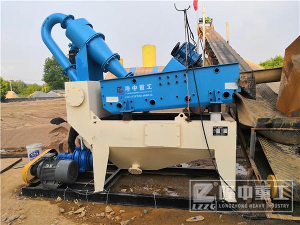 细砂回收机处理量与哪些因素有关