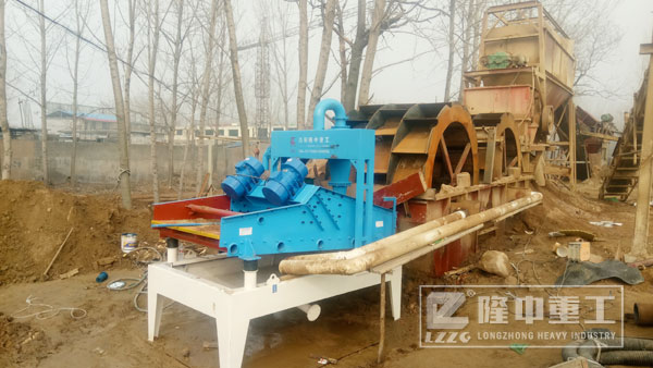 细沙回收机设备做好防护措施的重要性