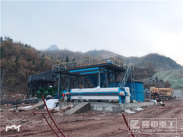 时产150吨砂石生产线多少钱,现场处理情况如何