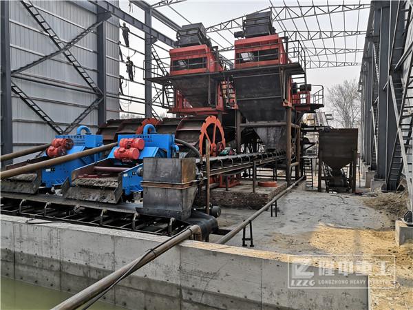 时产150吨砂石生产线选用什么型号细沙回收机设备?