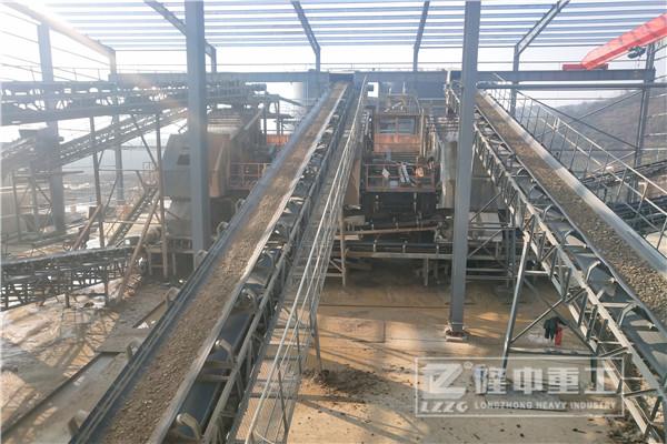投资时产100吨的砂石生产线价格多少