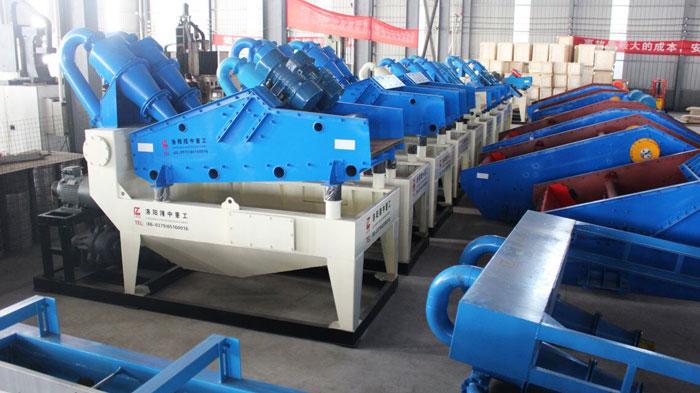 定制型细沙回收机的产量、价格不同,您选对了吗?