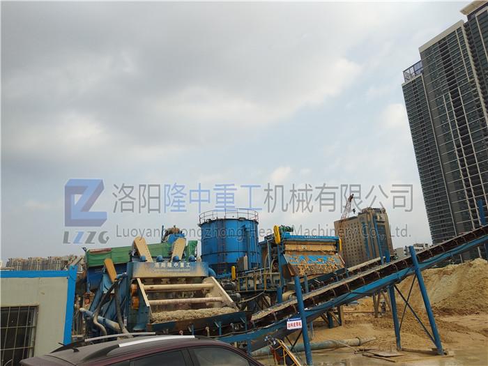 环保细沙回收机时产量可达多少吨