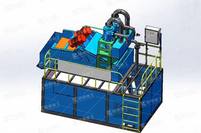 新型细沙回收一体机您了解多少?环保效果如何?