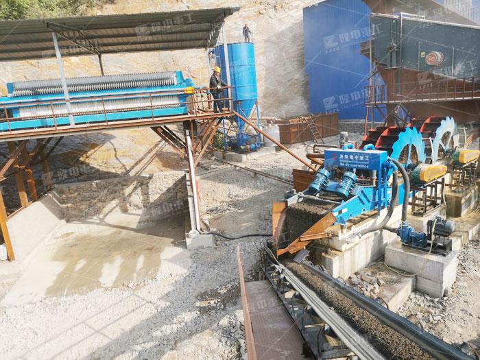 水洗沙设备厂家推jian,一套洗沙机设备价格duo少