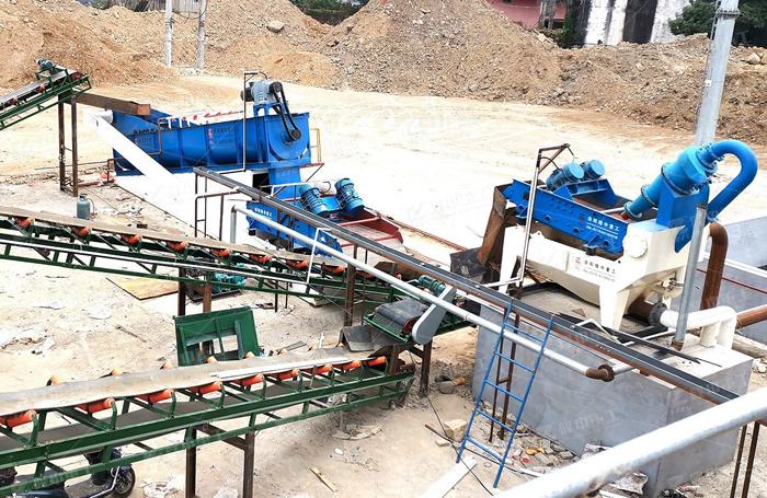 细沙回收机设备处理后的砂料应用到哪里呢