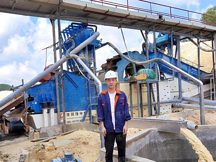 水洗砂有哪些用途?洗砂生产工艺流程